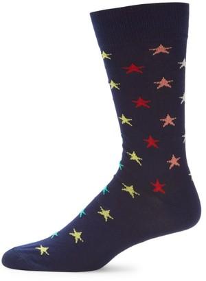 Paul Smith Star Print Socks