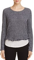 Generation Love Simone Fringe Layered Sweater