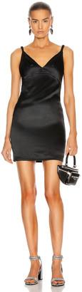 RtA Laura Cami Slip Dress in Black | FWRD