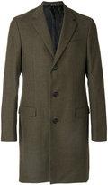 Lanvin classic single-breasted coat - men - Wool - 48