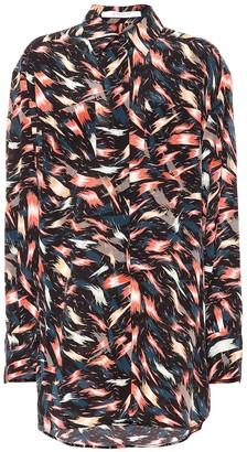 Givenchy Printed silk shirt