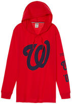 PINK Washington Nationals Campus Hoodie Tee