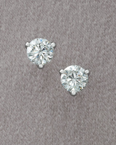 Roberto Coin Cento Stud Earrings 0.5 Carat