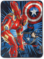 Marvel Captain America Civil War Fleece Throw