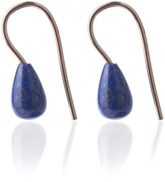 Lapis Mcfarlane Fine Jewellery Blue Lazuli Earrings Small