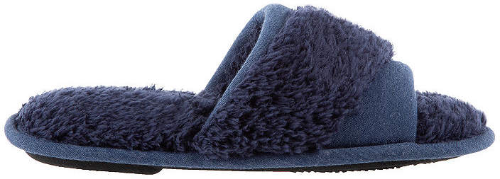 Chenille Jersey Slide Slip-On Slippers