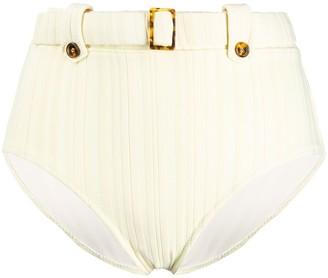 Solid & Striped Annie high-waisted bikini bottoms