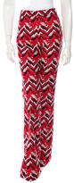 Giambattista Valli Flared Chevron Pants w/ Tags