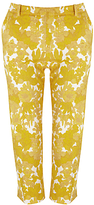 Weekend by MaxMara Floral Trousers, Yellow