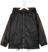 Fendi reversible Double-F hooded jacket