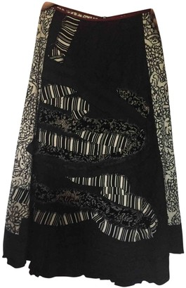 Antonio Marras Black Wool Skirt for Women