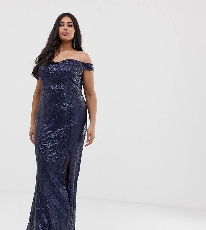 4463165a6d4 Club L Plus Size Maxi Dresses - ShopStyle UK