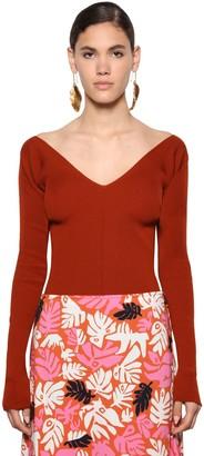 Marni Virgin Wool Rib Knit Sweater