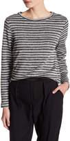Joe Fresh Metallic Striped Pullover Sweater