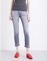 7 For All Mankind Slim-fit skinny stretch-denim jeans