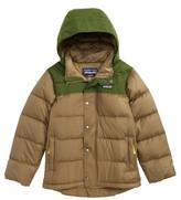Patagonia Boy's Bivy Water Repellent Down Jacket