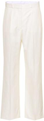Stella McCartney Cotton-blend trousers