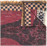 Pierre Louis Mascia Pierre-Louis Mascia - embroidered panel scarf