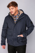 Yours Clothing REGATTA Navy Sternway Jacket