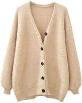 Goodnight Macaroon 'Nadine' Fluffly Button Up Cardigan (4 Colors)