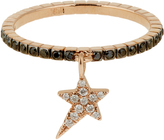 Diane Kordas Diamond & rose-gold Star ring