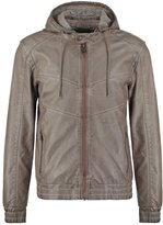 Guess Faux Leather Jacket Tumbleweed
