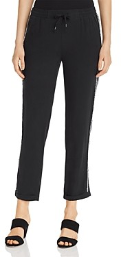 Go Silk Go by Side Stripe Cropped Pants