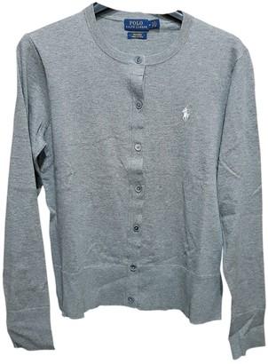 Polo Ralph Lauren Grey Cotton Knitwear