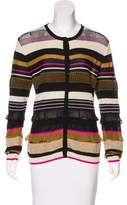 Salvatore Ferragamo Silk-Blend Knit Cardigan