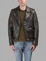Maison Margiela Leather Jackets