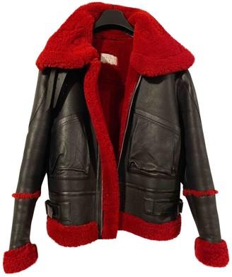 Sandro Fall Winter 2019 Black Shearling Coat for Women
