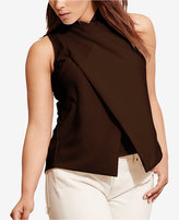 Lauren Ralph Lauren Plus Size Jersey Surplice Top