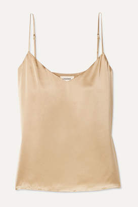 L'Agence Jane Silk-satin Camisole - Gold