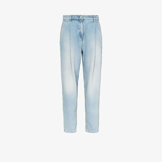 Magda Butrym Tapered Wide Leg Jeans
