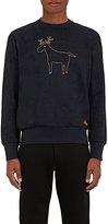 Vivienne Westwood MEN'S REINDEER-EMBROIDERED COTTON SWEATSHIRT