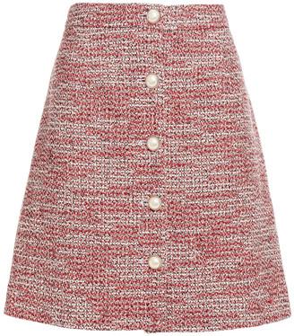 Claudie Pierlot Cotton-blend Tweed Mini Skirt