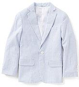 Class Club Little Boys 2T-7 Striped Seersucker Jacket