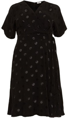 Studio 8 Whitney Spot Jacquard Dress