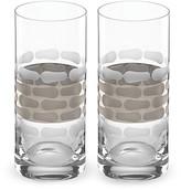 Michael Wainwright Truro Platinum Highball Glass, Set of 2