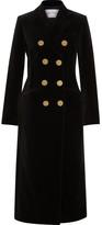 Sonia Rykiel Double-breasted Cotton-velvet Coat
