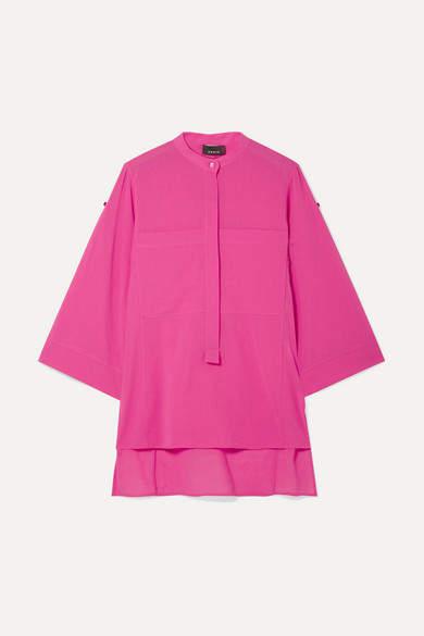 Akris Cotton-gauze Blouse - Pink