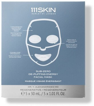 111SKIN Sub-Zero De-Puffing Energy Masks (Pack of 5)