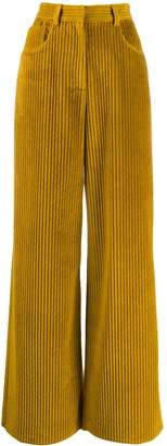 M Missoni high-waist corduroy trousers