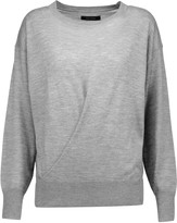 Isabel Marant Evans draped cashmere and silk-blend sweater
