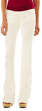 JCPenney a.n.a Thickstitch Bootcut Jeans