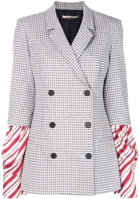 Hellessy Striped Sleeves Jacket
