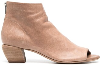 Officine Creative Helyette open-toe booties