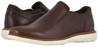 Florsheim Ignight Plain Toe Slip-On (Brown Pull Up) Men's Shoes