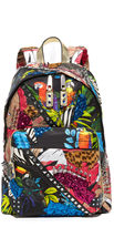 Marc Jacobs Biker Palm Parrot Backpack