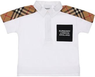 Burberry Cotton Piquet Polo